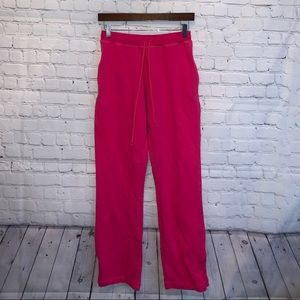 Lilly Pulitzer Hot Pink Cotton Sweatpants size S